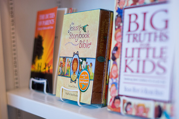 Christian kids library books